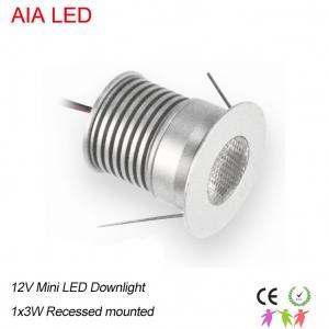 China 1W AC/DC12V IP42 indoor LED spot light/LED led down lamp/LED cabinet light for shops ceiling wholesale