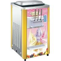 China Stainless Steel Counter Top Ice Cream Machine BQ316 For Market , R404 Refrigerant wholesale