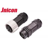 China High Current Waterproof Circular Connectors , 3 Pin Circular Plastic Connectors wholesale