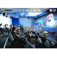 Quality Vehicle-Mounted Mini Mobile 5D Theater With Motion Chair Movement And Special for sale