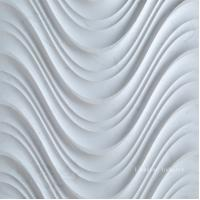 China 3D White Interior Stone Wall Decorative Surface Panel wholesale