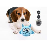 China Automatic Interactive Plush Dog Squeaky Toy , Pet Dog Toy With Batteries wholesale