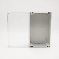 China 200*120*75mm Clear Plastic Enclosures For Electronics wholesale