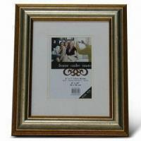China Photo Frame, Made of PS, Various Colors are Available wholesale
