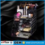 China China new products acrylic makeup display, acrylic makeup box, acrylic makeup storage boxes wholesale