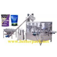 China Automatic milk powder whey protein powder zip lock bag doypack packaging equipment wholesale