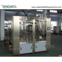China 4000BPH Automatic  Bottling Equipment Pet Glass Liquid Filling Machines 3KW wholesale