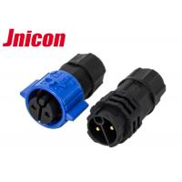 China Plastic Circular IP Rated Cable Connectors M19 Series 2 Poles For LED Screen wholesale