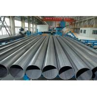 China Round Grade 20#  Welded Steel Pipe , HF Welding Carbon Steel ERW Pipe 12 Inch wholesale