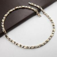 China Stainless Steel Necklace with Magnet, Negative-ion and Germanium/Bio Health Titanium Necklace wholesale