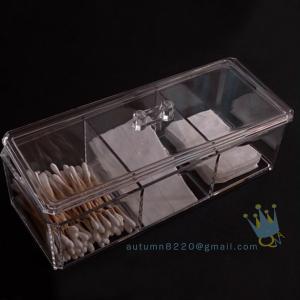 China wholesale acrylic makeup organizer with drawers wholesale