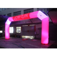 China Custom Advertising LED Inflatable Start Finish Arch For Event wholesale