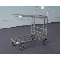 China Warehouse Four Wheel Shopping Trolley Metallic Q235 ISO9001 Certification on sale