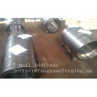 China Normalized Forged metal sleeve Rough Turned ST52-3 S355J2G3 P355GH wholesale