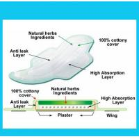 Quality Economical Blue Core Lady Sanitary Napkin,Sanitary Towel,Lady Pad with ADL for sale