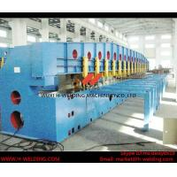 China Gas Cylinder Powered Edge Steel Sheet Milling Machine 5m/min High Speed wholesale