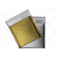 Silver / Golden Metallic Bubble Envelopes Aluminum Foil Envelopes 12.75
