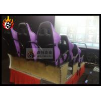China Hydraulic Platform 6d movie theatre Stop Button with 9 Seats Motion Chair wholesale