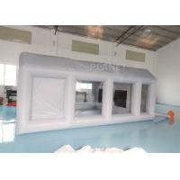 China Automotive Workstation Inflatable Spray Booth Double Stitching wholesale