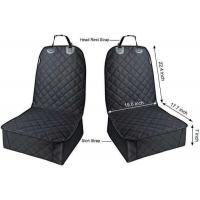 China Quilted Padded Durable Dog Seat Protector , Front Car Seat Covers For Dogs wholesale