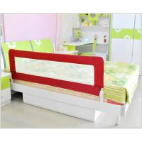 China Safety First Baby Bed Rails Red , Adjustable Bunk Bed Rail Guard wholesale