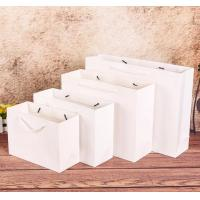 China Wholesale custom 100gsm twisted paper handle recycle food pizza boxes shopping kraft brown paper bag wholesale