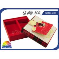 China Greeting Gift Cards Decorated Custom Soap Gift Box Packaging Rigid for Christmas wholesale