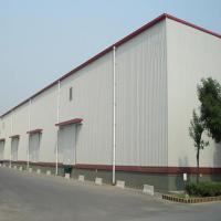 Buy cheap Q235 345B Workshop Steel Buildings / Steel Structure Warehouse With Drawings from wholesalers