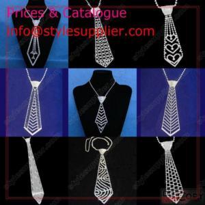 China Rhinestone Necktie, Crystal Necktie, Handmade Necktie, Sexy Necktie, Tie wholesale