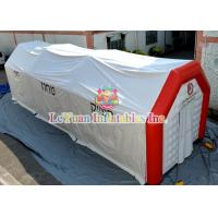 Buy cheap Customized Inflatable Medical Tent With Waterproof PVC 0.9mm Tarpaulin from wholesalers