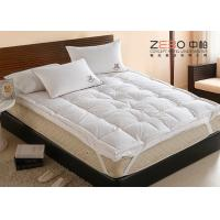 China Comfortable Home Hotel Pillow Top Mattress Pad OEM / ODM Available wholesale