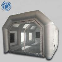 China Economical Inflatable Spray Booth 10 Mm Thickness Filter Low Noise wholesale