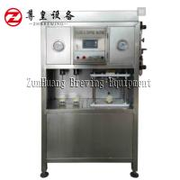 China Electric Beer Can Filling Machine , Semi Automatic Beer Can Filler Easy To Operate wholesale