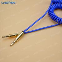 China Gold plated 3ft 3.5mm audio cable wholesale