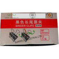 China Custom Printed Office Tails Clips Packaging Boxes Glossing Varnish Finished wholesale