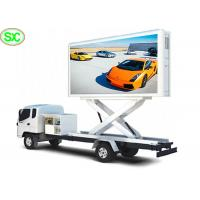 China Truck Mounted P6 Mobile Truck LED Display Digital Billboard Waterproof wholesale
