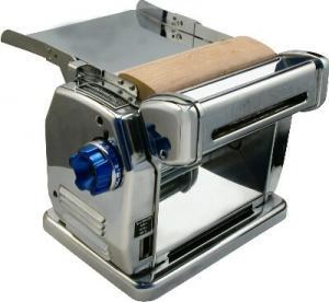 China Custom 1.5KW 380v 39r/min hygeian home kitchenaid stainless steel automatic noodle cutting machine on sale