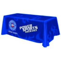 China Commercial Polyester Custom Table Runner With Logo Dye Sublimation Printed wholesale