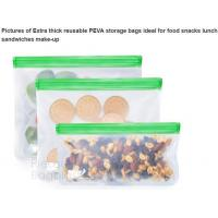 Buy cheap Reusable BPA Free Food Grade Preservation Storage Silicone Food Fresh Bag from wholesalers