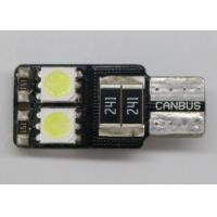 Buy cheap Custom Made LED Car License Plate Lights T10 W5W SMD5050 Interior Bulbs from wholesalers