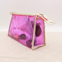 China Transparent Cosmetic Packaging Bag Clear Ziplock Pvc Bag For Cosmetics wholesale