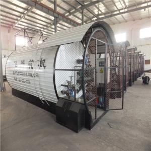 China Cuboid Shape Easy Transportation Asphalt Heating Tank For Asphalt Mixing Plant wholesale