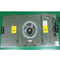 China Stainless Steel Cabinet 0.8m/S 97pa H14 Fan Filter Unit wholesale