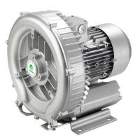 China Silver Color Side Channel 3 Phase Vacuum Pump Biogas Transfer Air Pump 15.0kw 17.5 Kw wholesale