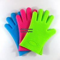 China Durable kitchen five fingers silicone glove LOW MOQ and cheap price wholesale
