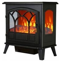 Buy cheap 3 SIDED FLAME WOODEN BURNING ND-182CLA BIG SIZE FREESTANDING ELECTRIC STOVE from wholesalers