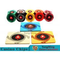 3.3mm Thickness 12 - 32g Casino Poker Chips / Customized Ceramic Chip