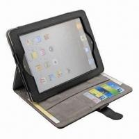 China Leather Cover/Case for New iPad, OEM/ODM Orders are Welcome, Customized Designs are Accepted wholesale