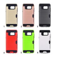 China Hard Plastic Tpu Hybrid Samsung Cell Phone Cases / Credit Card Holder For Phone on sale