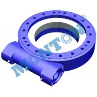 China Vertically Mounted Worm Gear Slew Drive Sun Tracker For Construction Machinery wholesale